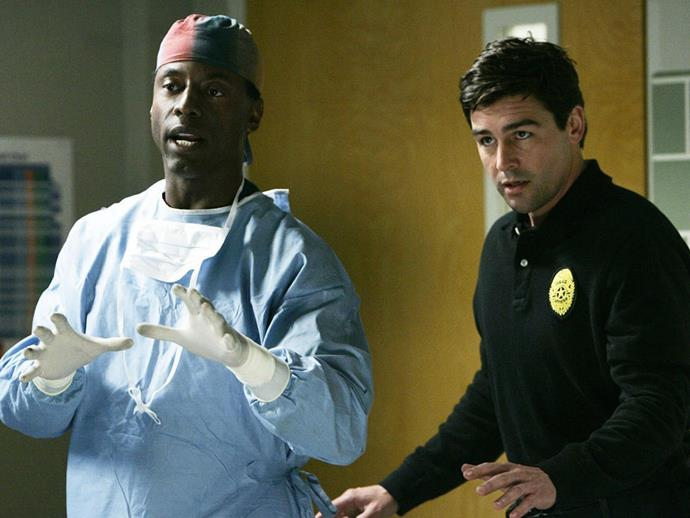 **Kyle Chandler.** Our favourite on-screen husband, Coach Taylor—we mean Kyle Chandler—also played our favourite on-screen Bomb Squad Captain, Dylan Young, in season two.