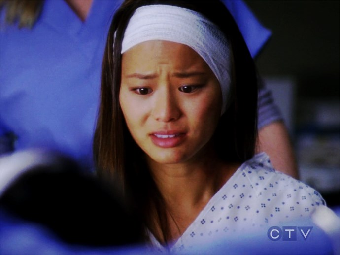 **Jamie Chung.** Jamie Chung came in to play Trina Paiz in season seven, who falls into a ravine and loses her ear.