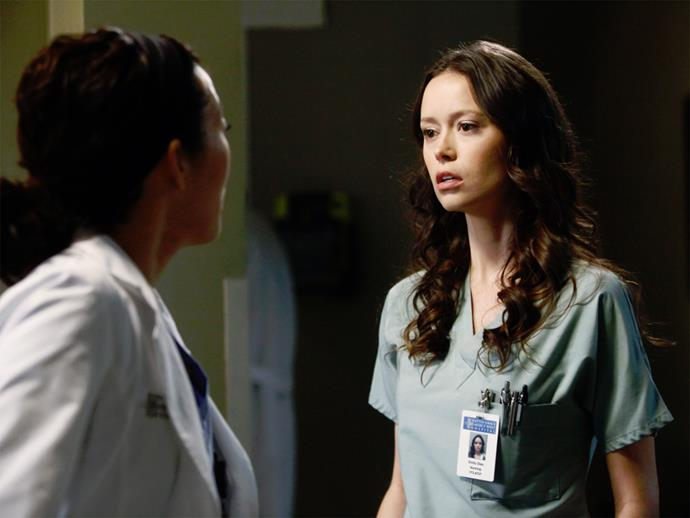 **Summer Glau.** Poor Summer Glau didn't have *that* great a time on *Grey's*, she played a nurse who Cristina accused of having an affair with Owen.