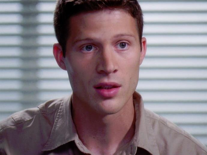 **Zach Gilford.** Zach, AKA Matt Saracen from *Friday Night Lights*, came in briefly as an injured soldier who requests a leg amputation.