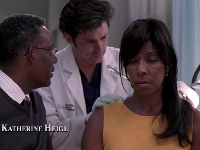 **Natalie Cole.** Natalie Cole played Sylvia Booker in season two, a patient with an inoperable brain tumour who gets stabbed with a fork after she has an seizure giving her boyfriend a blowjob.