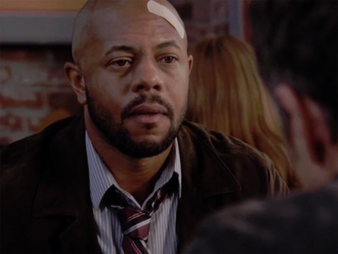 **Rockmond Dunbar.** *Sons of Anarchy* star Rockmond played Sean Brotherton in season four.