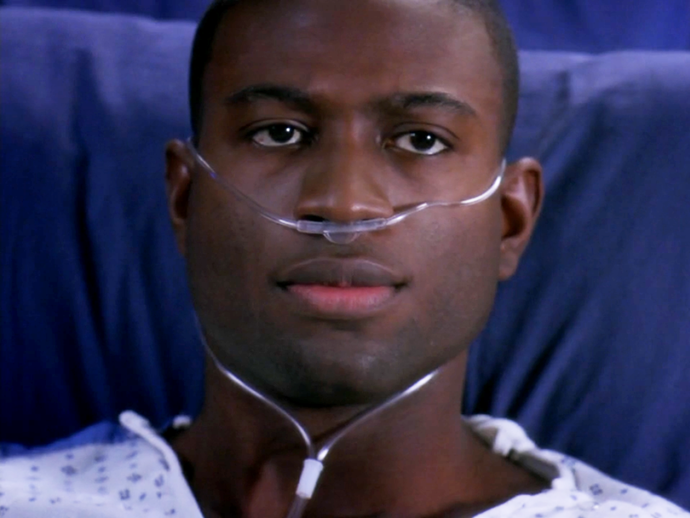 **Sinqua Walls.** *Teen Wolf* and *Friday Night Lights* star Sinqua played a pro football player who opted to end his career to be with his family.
