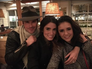 This photo of Nikki Reed, Ian Somerhalder and Nina Dobrev is the TVD closure we all need