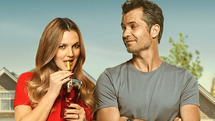 ***Santa Clarita Diet*** out now on Netflix: In case you've ever wondered what it would be like if we lived in a world where Drew Barrymore was a cannibal, this is for you.