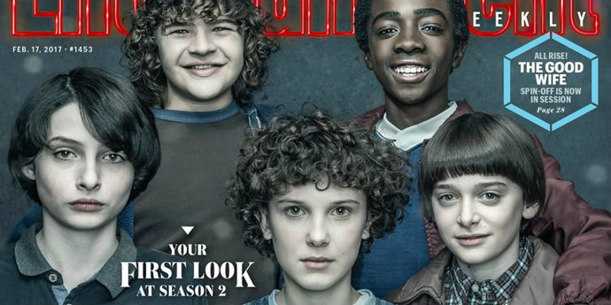 ***Stranger Things* Season 2** coming to Netflix, 31st October, 2017: The new series sees the return of Eleven (with a cool hairdo), Will dealing with his traumatic experiences in the Upside Down, and an entirely new threat pestering the town of Hawkins.