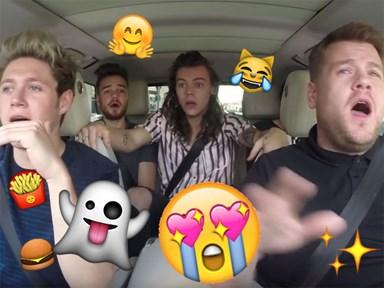 A 1D member is going back on carpool karaoke