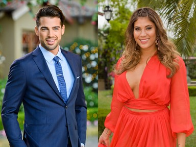 Um, these two 'Bachelor' and 'Bachelorette' contestants are totally hooking up