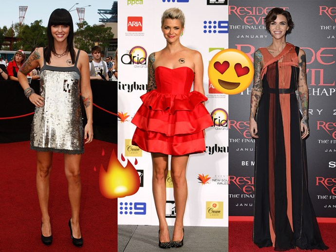 Ruby Rose Style Evolution