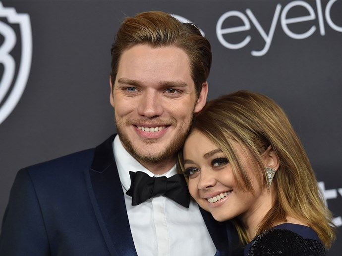 Sarah Hyland and boyfriend Dominic Sherwood 2 year anniversary
