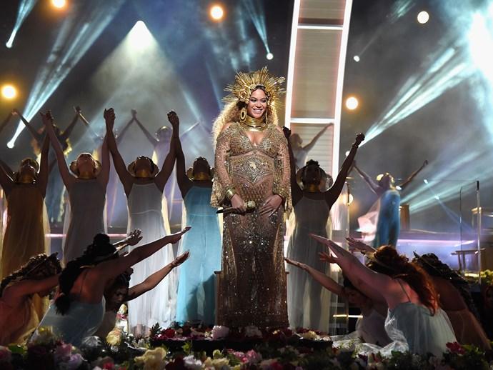 Beyonce Grammys performance 2017