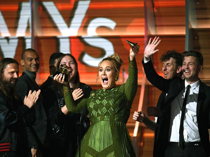 Adele wins at 2017 Grammys