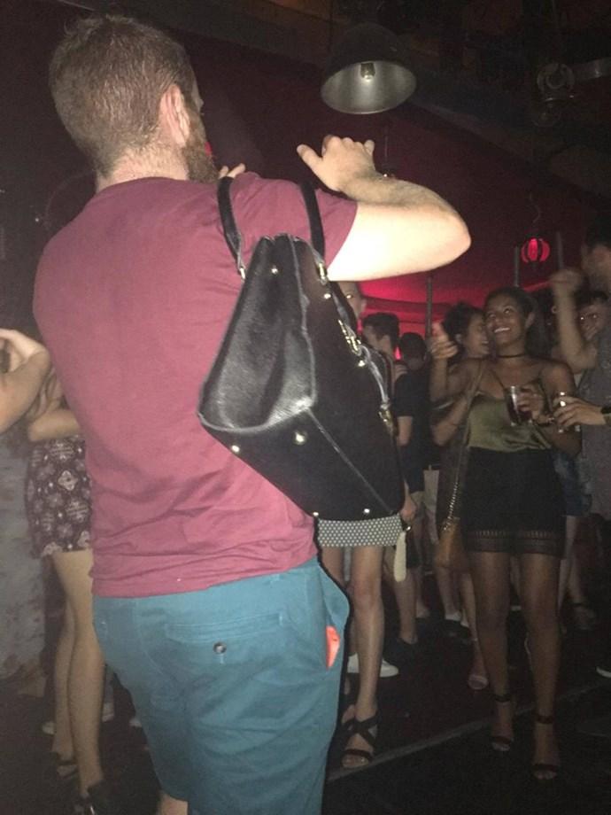 Major points to this legend holding his lady's handbag. [Source](https://www.facebook.com/Boyfriendsofinstagram/)