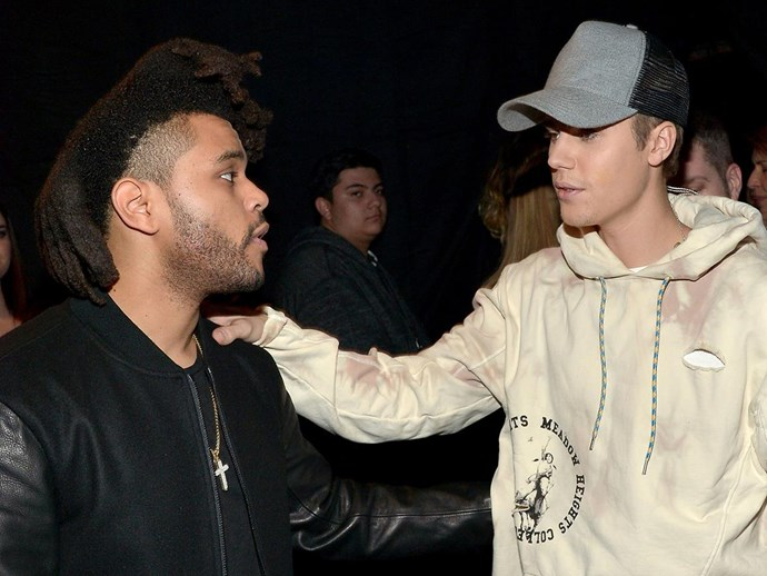 The Weeknd just dropped a track dissing Justin Bieber