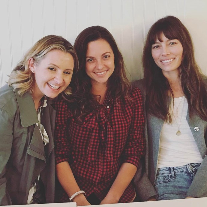 **7th Heaven**  The three Camden sisters - Lucy (Beverley Mitchell), Ruthie (Mackenzie Rosman) and Mary (Jessica Biel) - are all grown up.