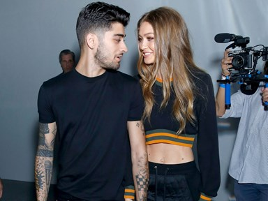 Gigi Hadid and Zayn are endorsing the most RANDOM product