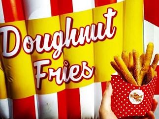 The Doughnut Bar introduce doughnut fries in Brisbane