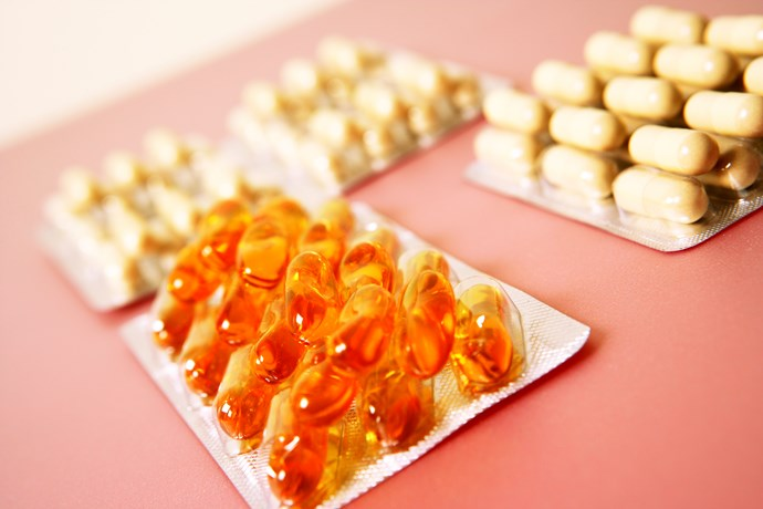 **Take a fish oil supplement**  This is a must if you're prone to flaky, dry skin in Winter. Basically, all the fatty oils helps your skin cling onto moisture. You can layer on all the skincare prods you like, but they won't do a whole lot if your largest organ isn't supported from the inside, out.