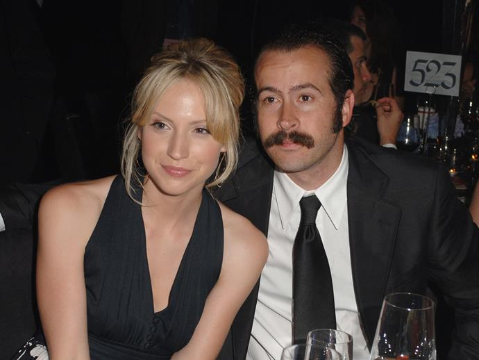 """**Jason Lee and Beth Riesgraf**<br><br>  Jason Lee and his ex-wife Beth Riesgraf share a son named **Pilot Inspektor**, who was reportedly named after the song """"He's Simple, He's Dumb, He's the Pilot"""" by band Grandaddy."""