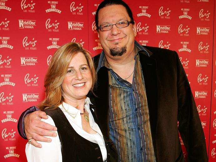 **Penn Jillette**<br><br>  American performer Penn Jillette and his wife Emily have two children, a son named **Zolten** and a daughter named **Moxie CrimeFighter.**