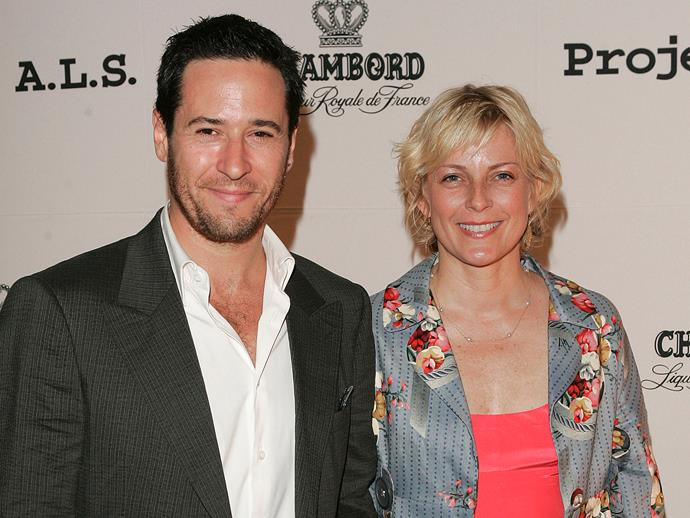 **Rob Morrow**<br><br>  Just had to do it, didn't you? Actor Rob Morrow named his daughter **Tu**. As in **Tu Morrow**.