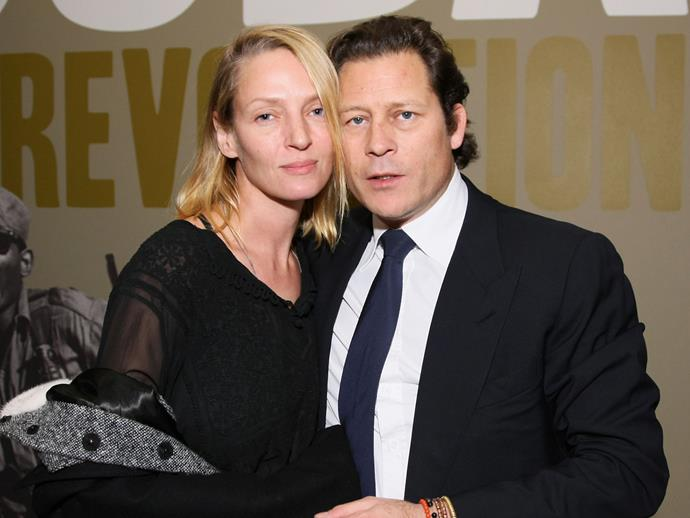**Uma Turman**<br><br>  Do you think this fits on a passport? Uma Thurman and then-husband Arpad Busson welcomed a daughter named **Rosalind Arusha Arkadina Altalune Florence Thurman-Busson**. Thankfully, she has a nickname — Luna.