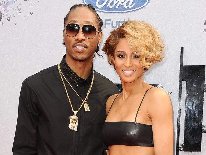 **Ciara and Future**<br><br>  Ciara and her ex-fiancé, rapper Future, welcomed a son, **Future Zahir,** in 2014.