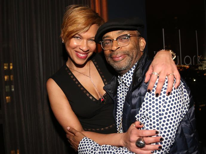 **Spike Lee**<br><br>  Spike Lee and wife Tonya have a daughter named **Satchel.**
