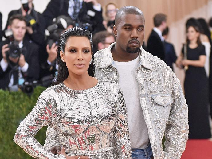 **Kanye and Kim Kardashian West**<br><br>  And, of course, we couldn't leave Kimye off the list. Even if we are used to them, **North**, **Saint**, **Chicago** and **Psalm** are a little weird.