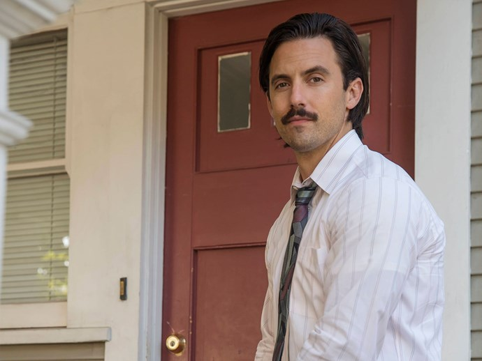 **Milo Ventimiglia**  He makes us swoon as Jack Pearson, head of the Pearson family and ultimate #Dad/#HusbandGoals, but before that he…
