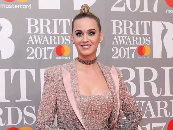 Katy Perry had the most awkward BRIT Awards red carpet interview last night
