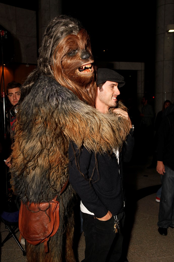 RARE PIC OF CHEWBACCA AND MILO.