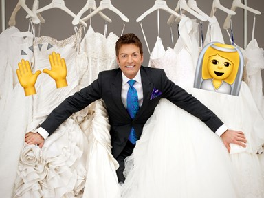 Bridal ~guru~ Randy from 'Say Yes To The Dress' now a wedding dress designer