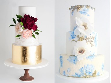 Watercolour Cake Is the Dreamiest (and Most Delicious) New Wedding Trend