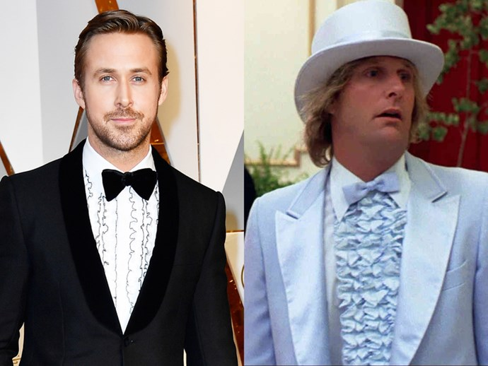 Ryan Gosling? Or Harry from *Dumb and Dumber*?