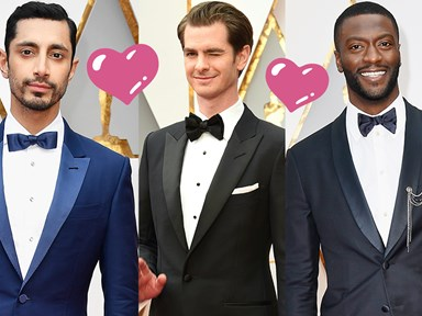 All the hottest men at the 2017 Oscars