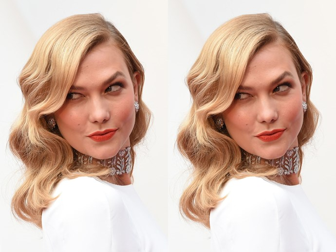 OSCARS RED CARPET: How to get Karlie Kloss' brushed out curls