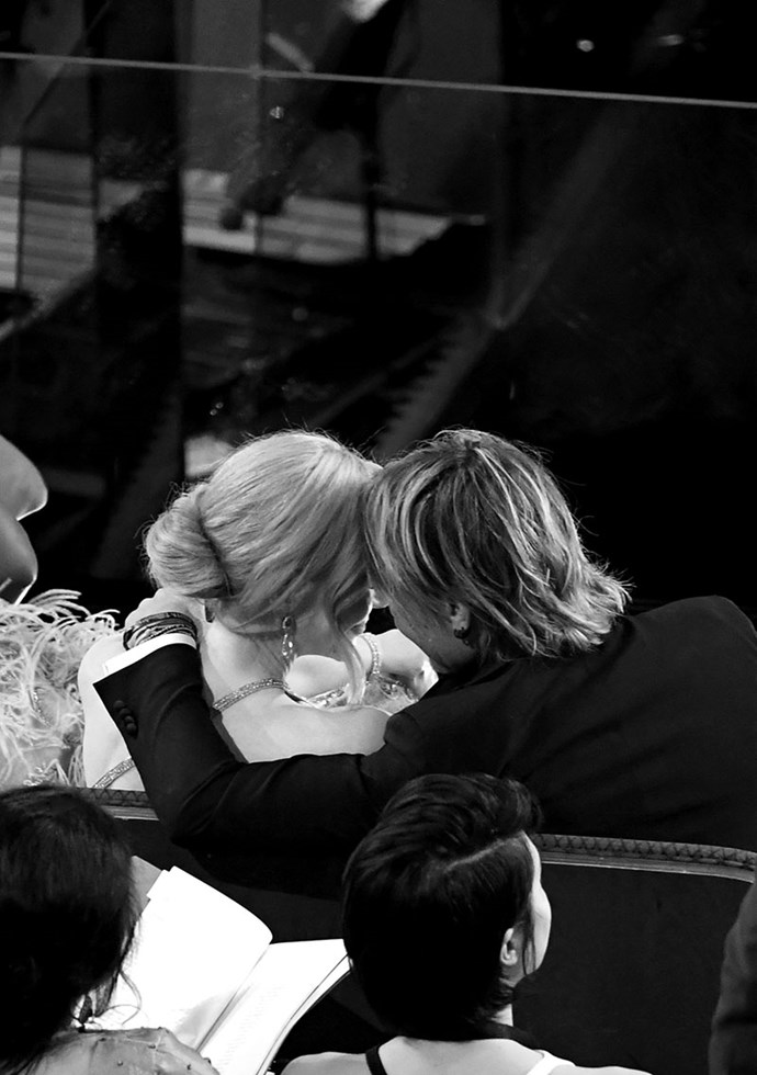 Ugh, Nicole Kidman and Keith Urban are so bloody cute, we can't handle it.