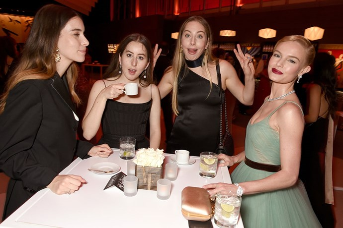 HAIM caught up with Kate Bosworth.