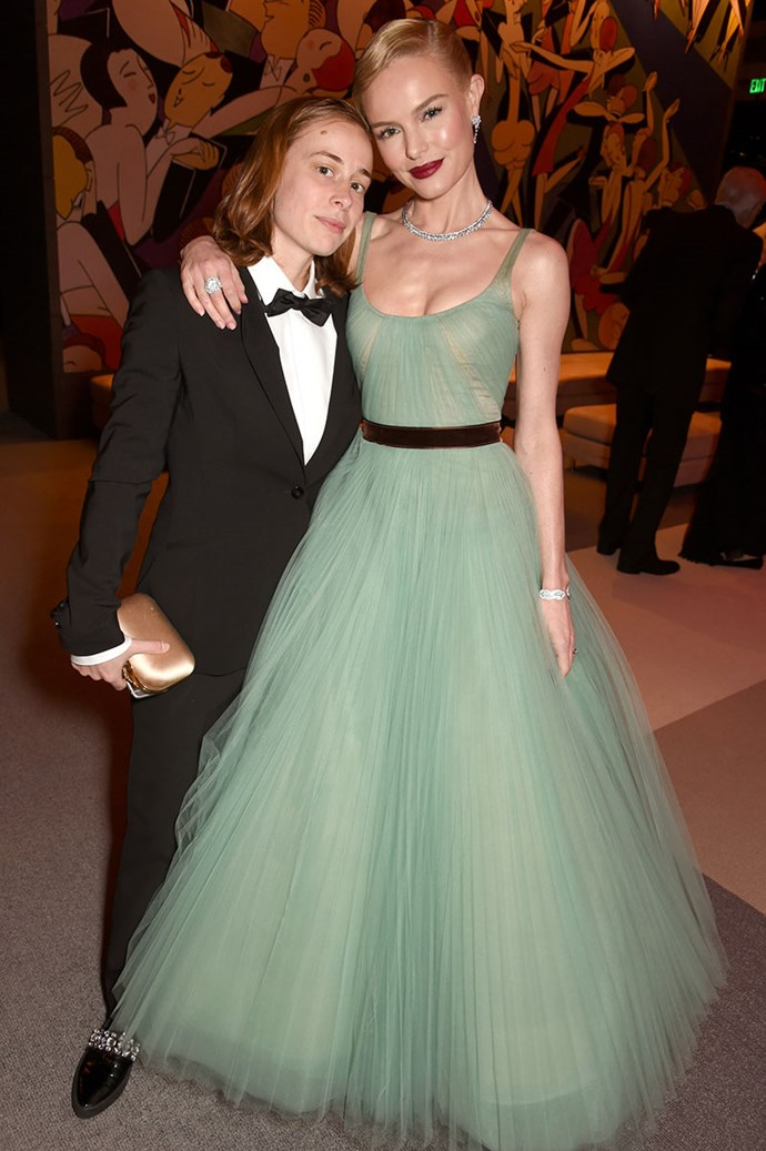 Kate Bosworth brought her best friend and PA, Jen.