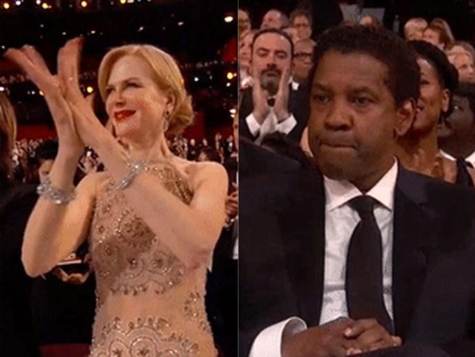 Awkward Oscars Moments