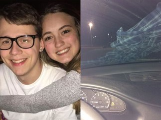 Ashley Hardacre windscreen warning