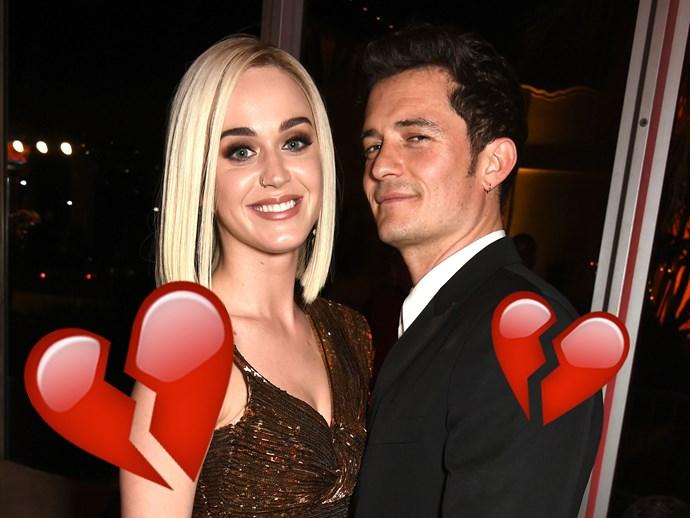 Katy Perry Orlando Bloom split