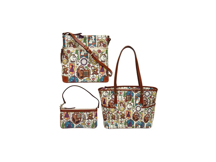 [*Beauty and the Beast* bags by Dooney & Bourke](http://www.dooney.com/).
