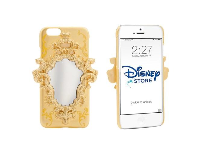 [*Beauty and the Beast* phone case by the Disney Store](https://www.disneystore.com/phone-cases-tech-accessories-accessories-beauty-and-the-beast-iphone-6-case-live-action-film/mp/1421789/1026404/?CMP=KNC-DSSGoogle&s_kwcid=AL!5079!3!95242946784!!!g!58505125000!&ef_id=WBia@gAAAOHQzxar:20170216135128:s&LSID=7283379|10676026|100097X1555749X60c8ff306c04f0597a3f539658c83d56#longDescription).