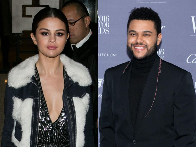 SPOTTED: Selena Gomez and two V famous models fan girling over The Weeknd