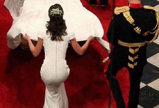 When the world stopped to stare at Pippa Middleton's tush in the middle of Kate and Will's wedding 'cause it was so damn glorious.