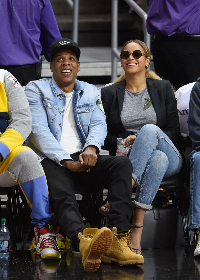 **3. BEYONCE AND JAY Z**  Age difference: 12 years. Beyonce is 35 and Jay Z is 47.