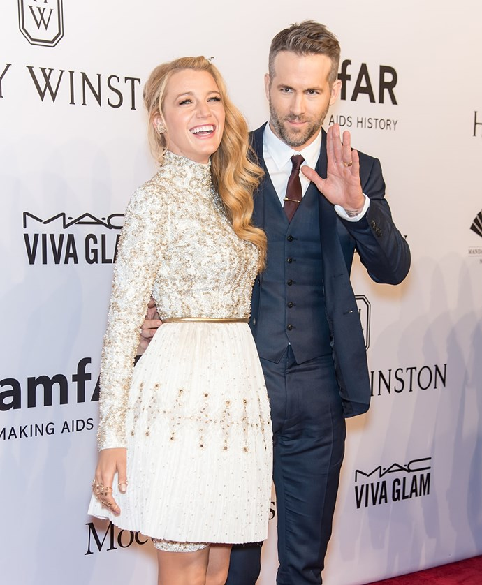 **4. BLAKE LIVELY AND RYAN REYNOLDS**  Age difference: 11 years. Blake is 29 and Ryan is 40.