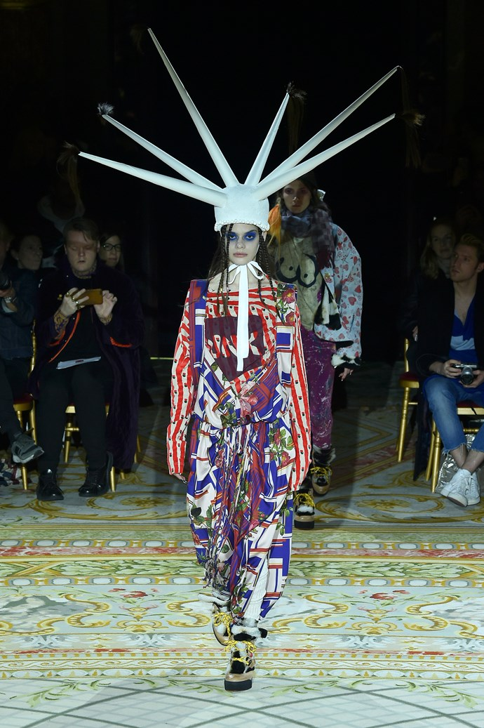 **WHERE:** Vivienne Westwood  **WHAT:** Your worst nightmare.